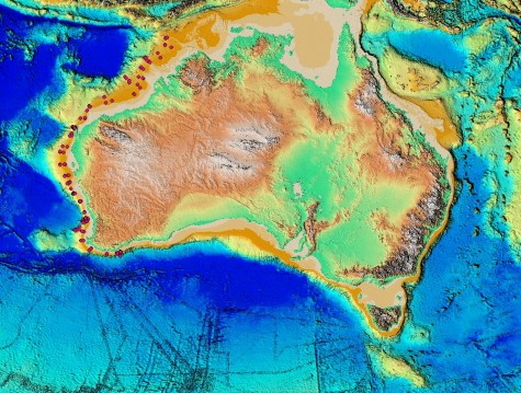 What Can Polychaete Worms Tell Us MARINE BIODIVERSITY HUB - Australia continental map