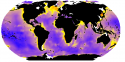 Global abyssal diversity: Where red and orange areas represent the highest level of species diversity. Museum Victoria