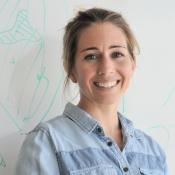 Hub data manager, Emma Flukes.